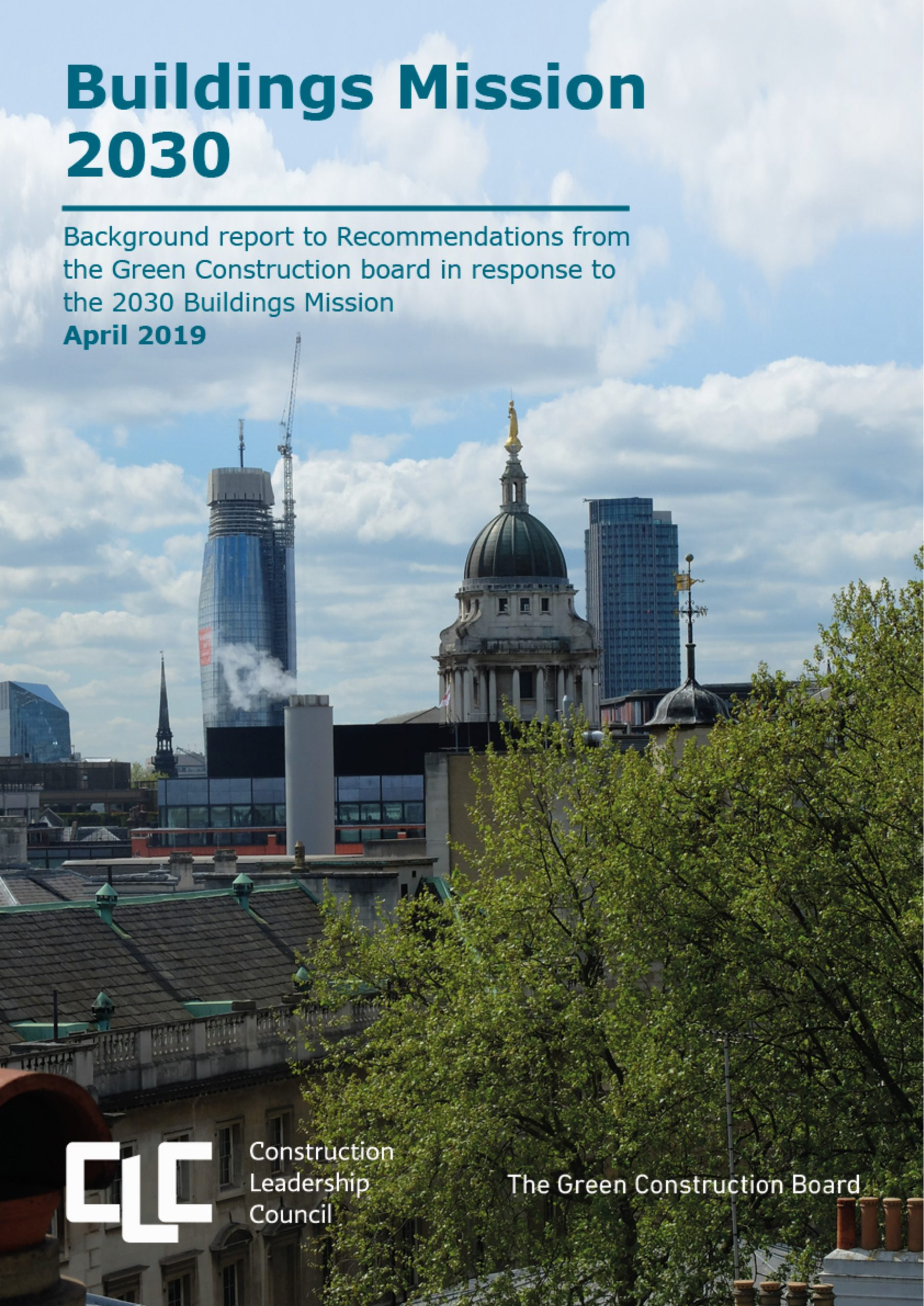 Buildings Mission 2030: GCB Recommendations