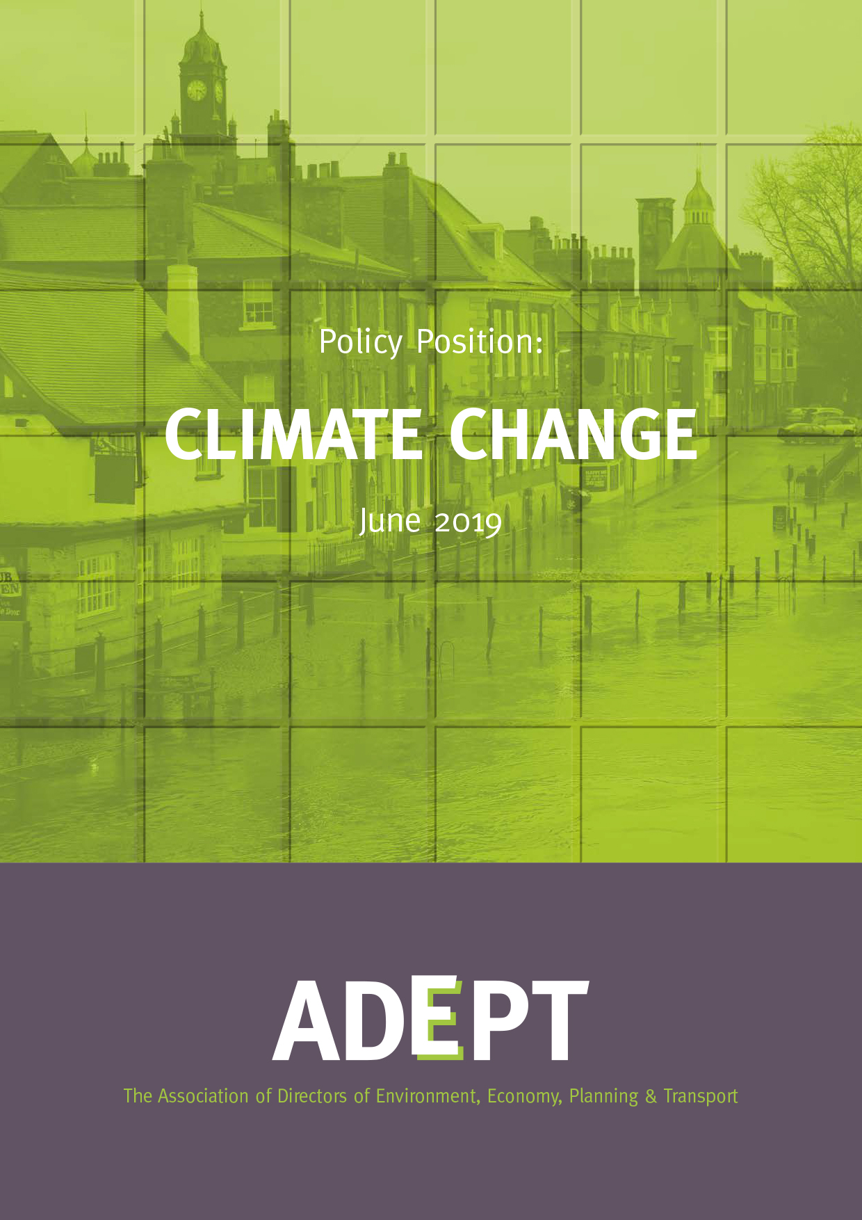 Climate Change Policy Position