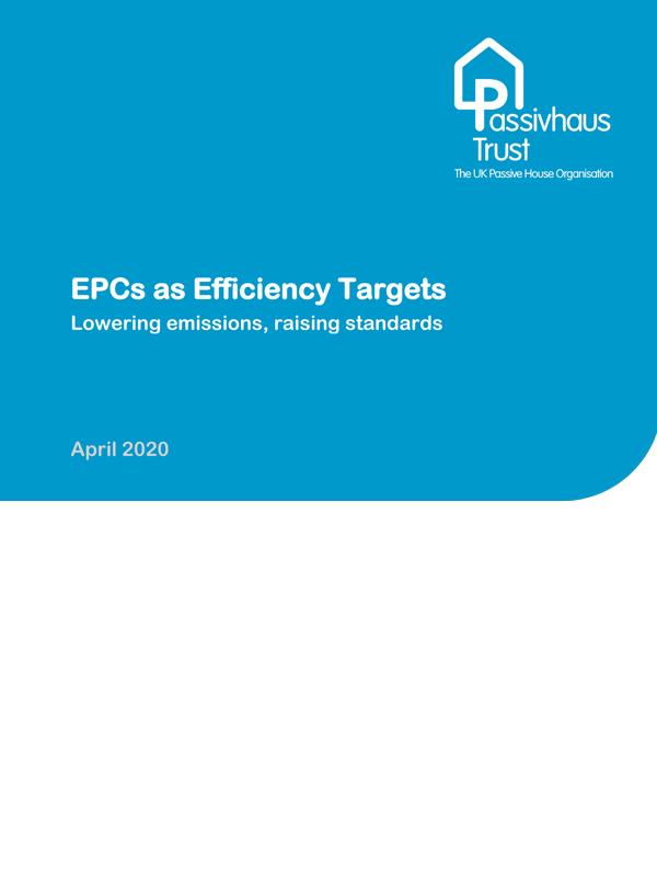 EPCs as efficiency targets