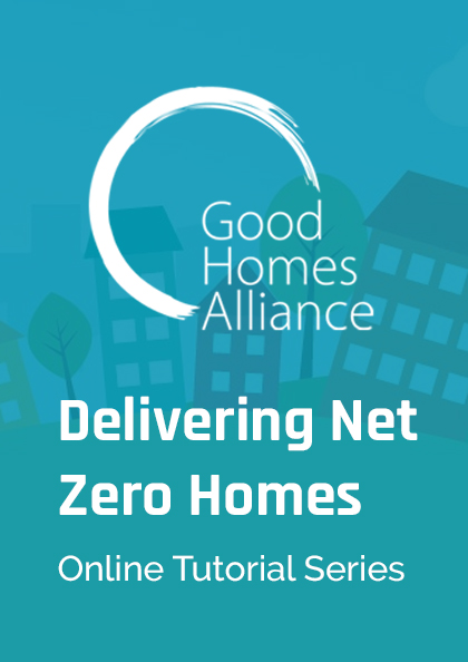 Delivering Net Zero Homes: Tutorial 2 Costing