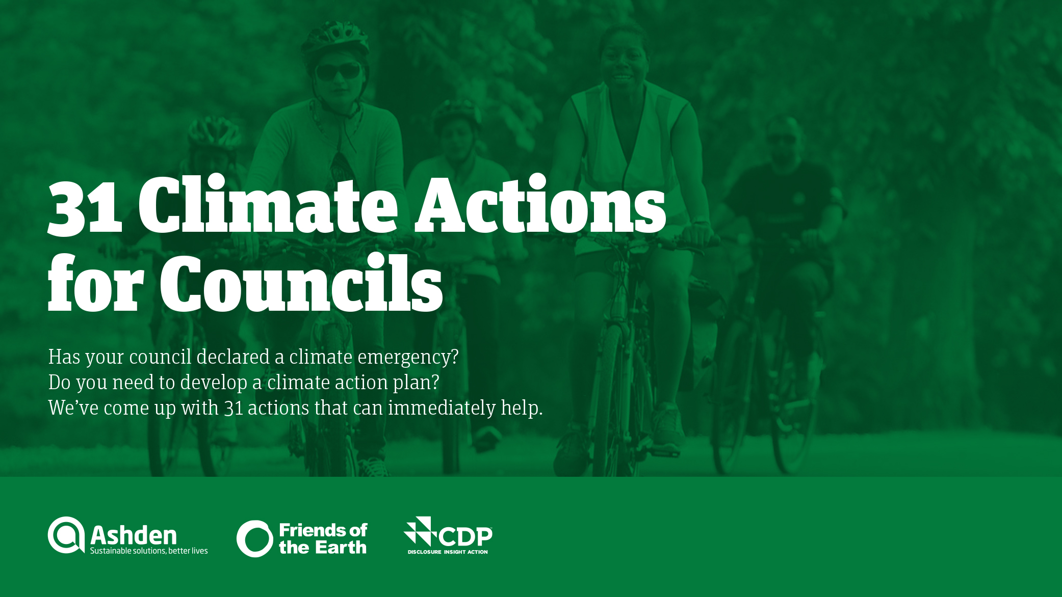 31 Climate Actions for Councils