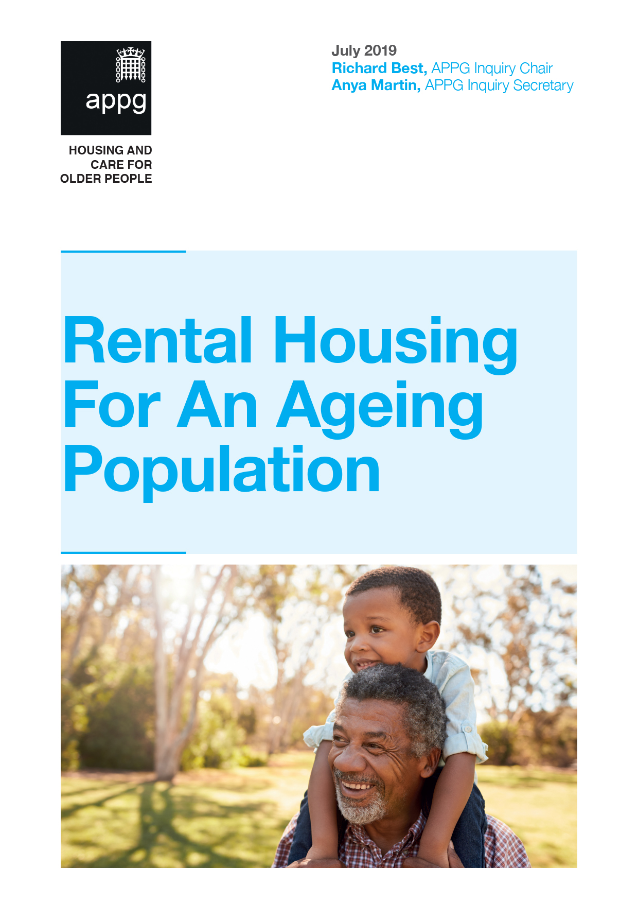 Rental Housing for an Ageing Population (HAPPI 5)