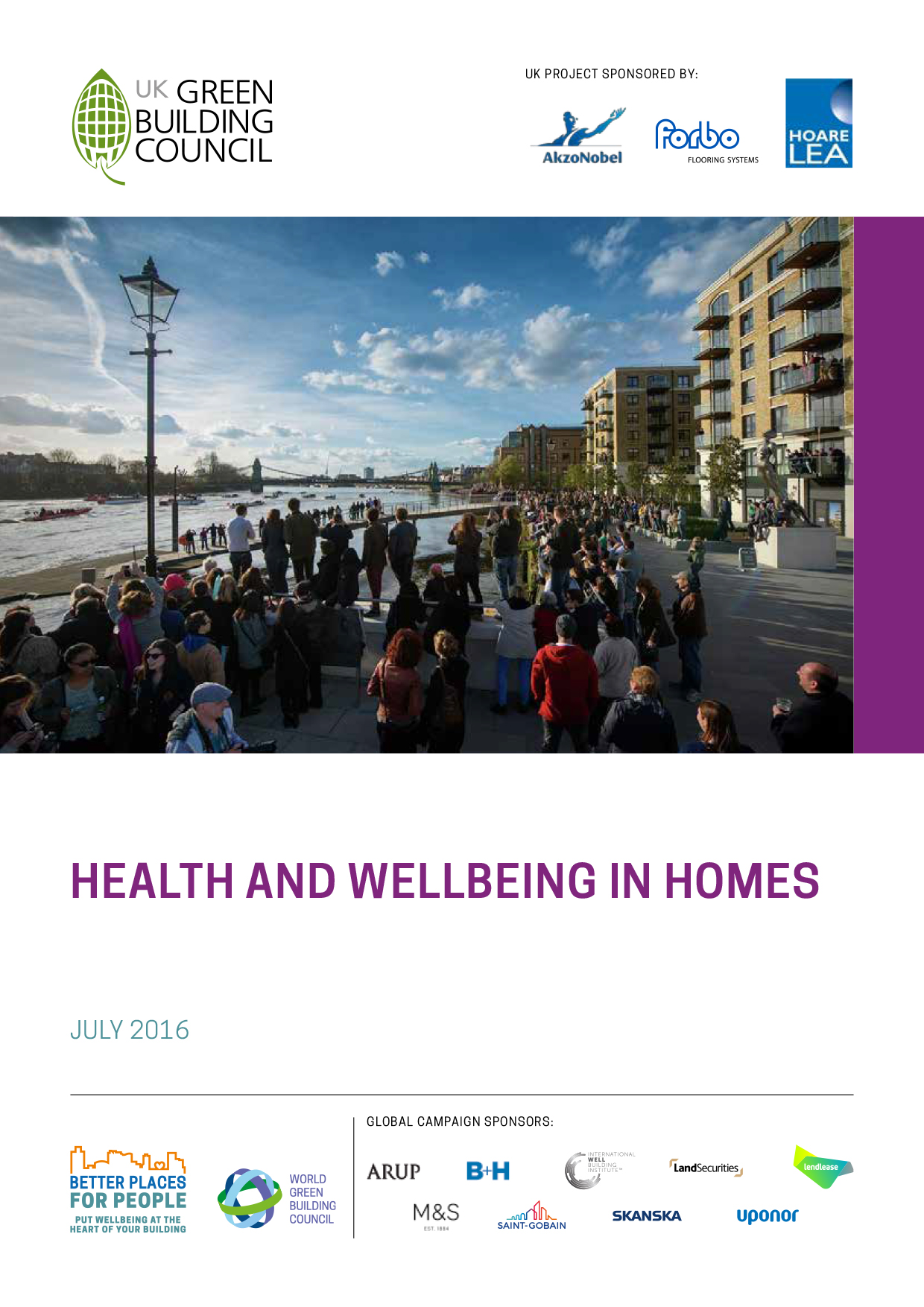 Health and Wellbeing in Homes