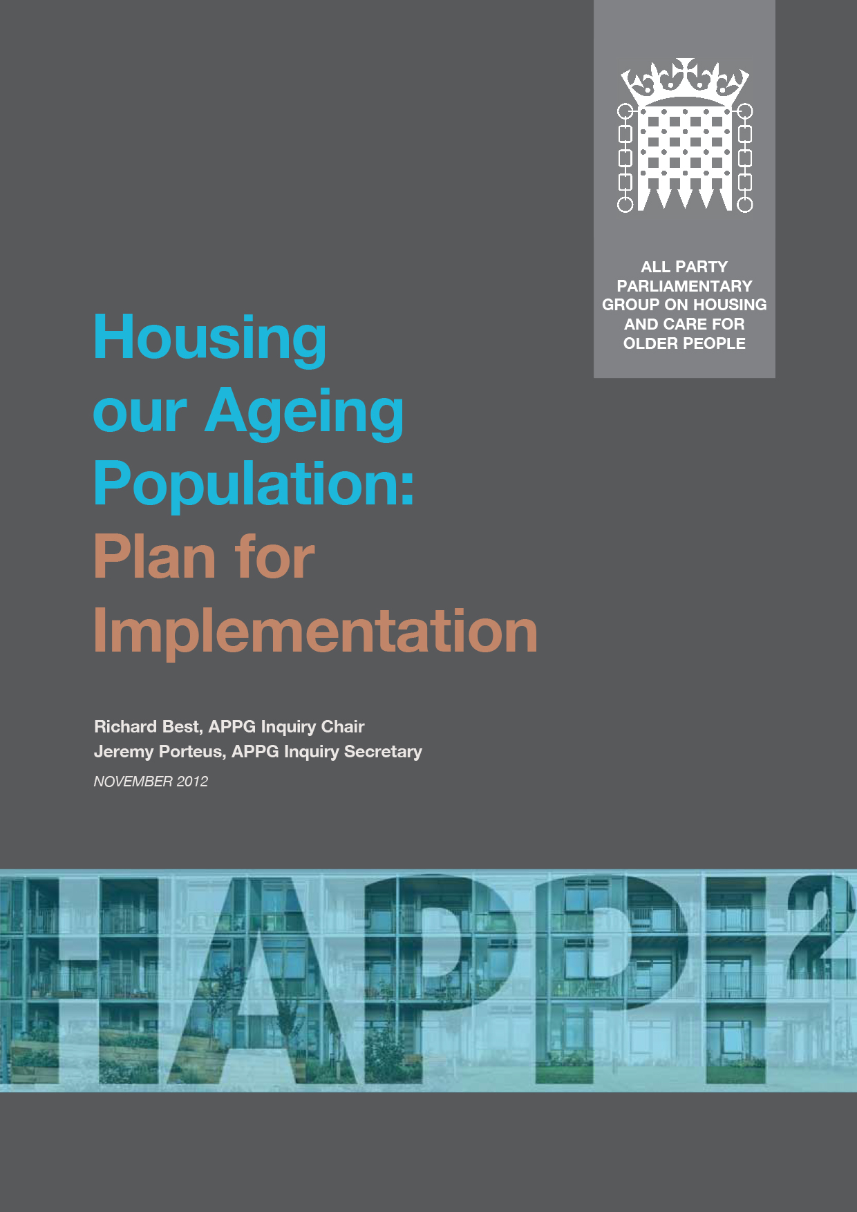 Housing our Ageing Population: Plan for Implementation (HAPPI2)