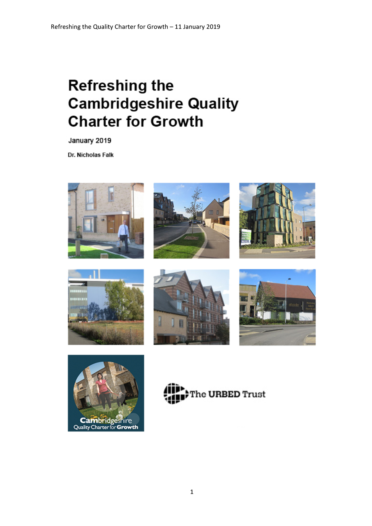 Refreshing the Cambridgeshire Quality Charter for Growth