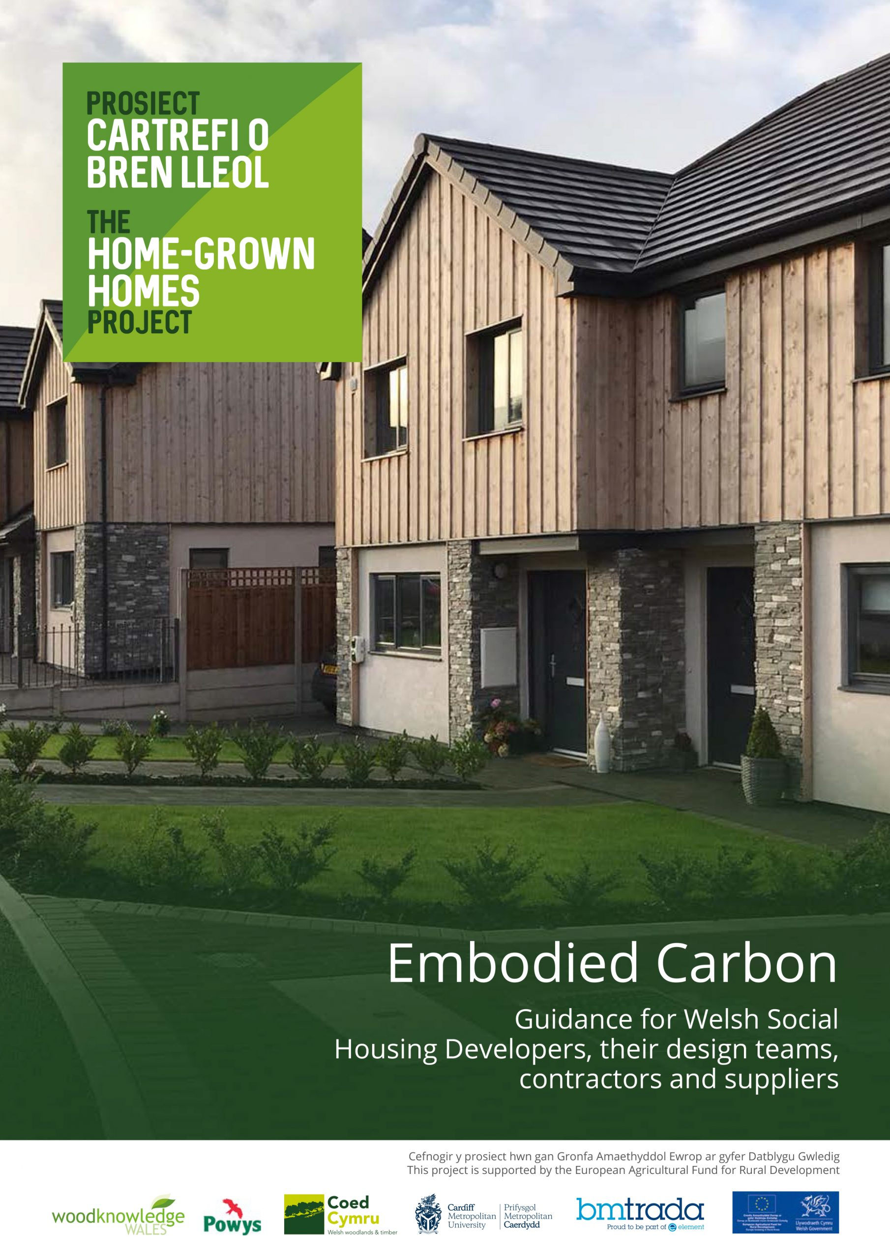 Embodied Carbon Guidance for social housing developers, their design teams, contractors and suppliers