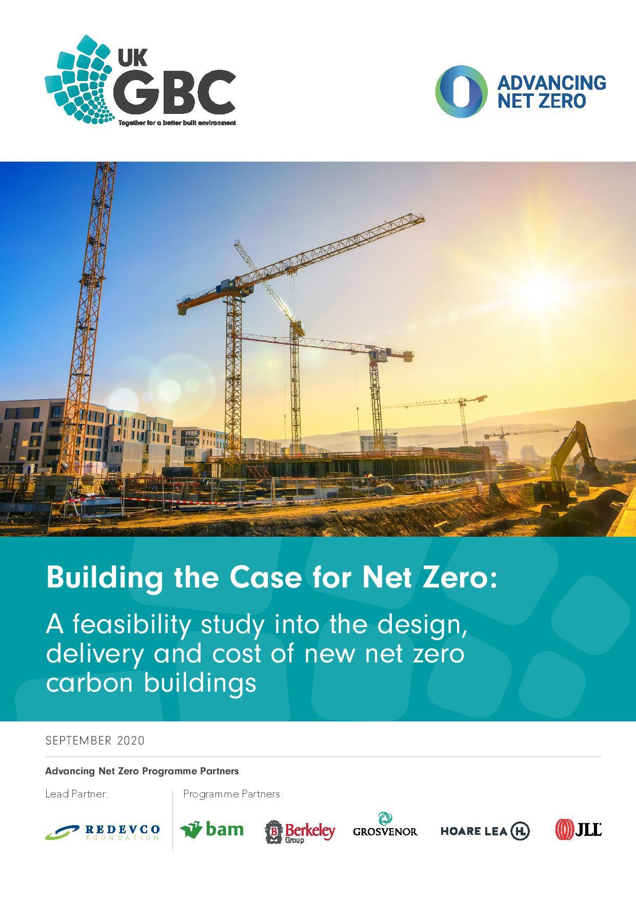 Building the Case for Net Zero