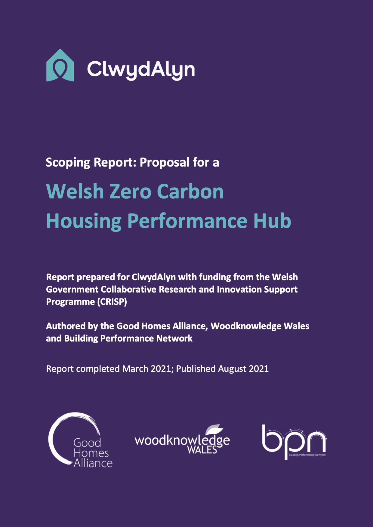 Welsh Zero Carbon Housing Performance Hub