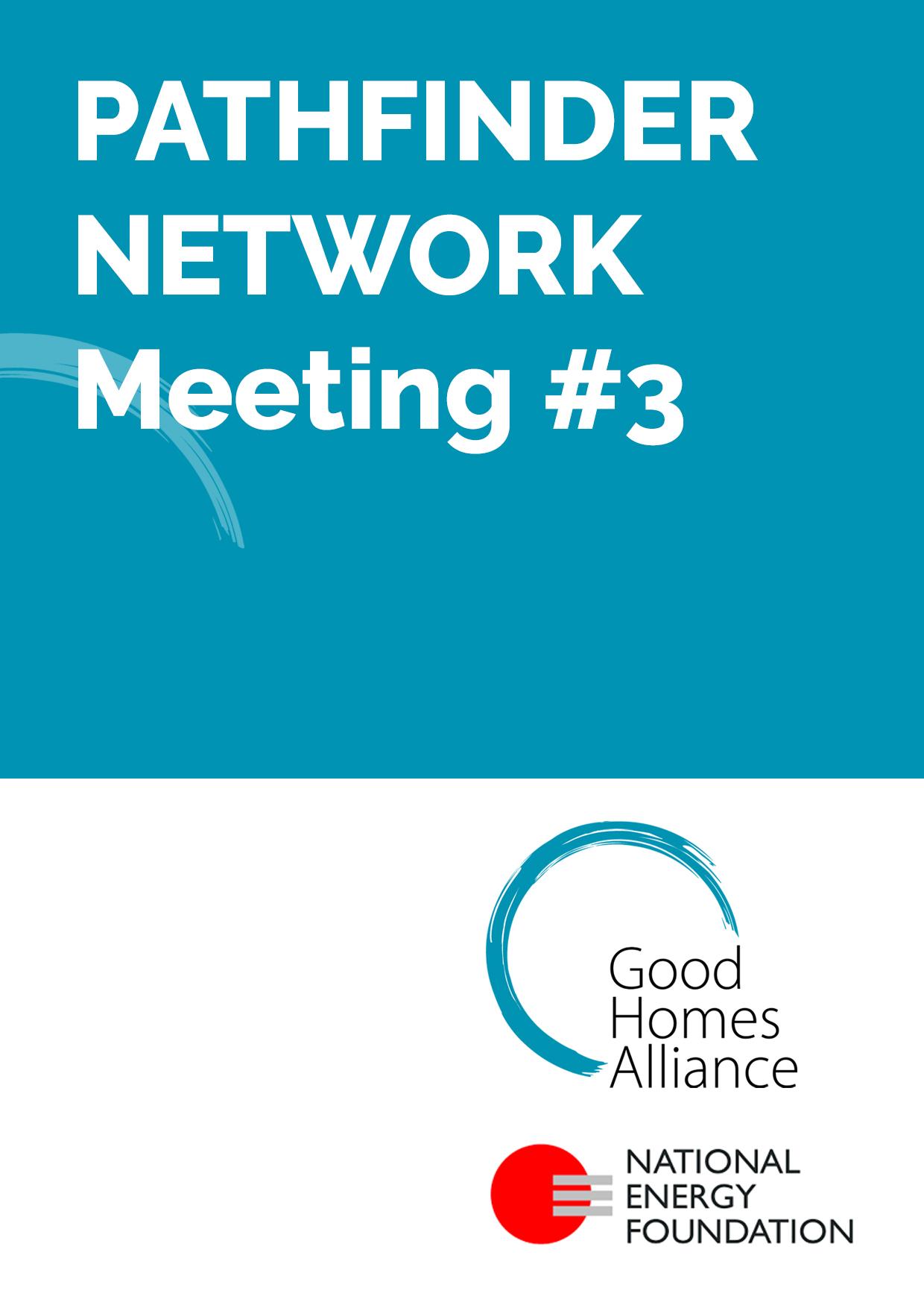 Pathfinder Network meeting #3